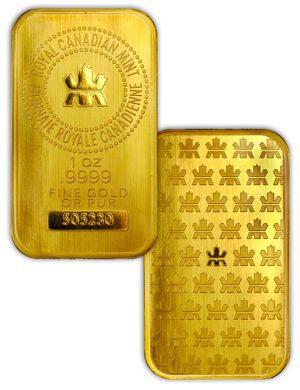 RCM-–-Royal-Canadian-Mint-1oz-Gold-Bullion-Bar